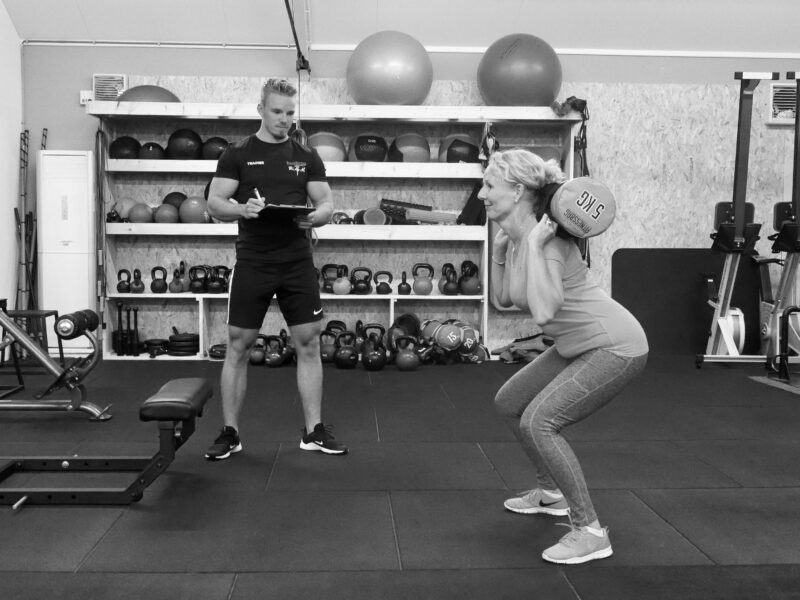 PT revalidatie squat